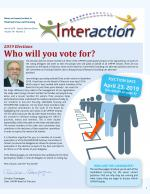 Interaction March 2019